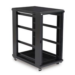 "22U LINIER Open Frame Server Rack - No Doors/Side Panels - 36"" Depth"