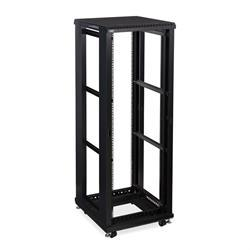 "37U LINIER Open Frame Server Rack - No Doors/Side Panels - 24"" Depth"