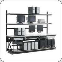 96 Inch Performance Work Bench with Full Bottom Shelf