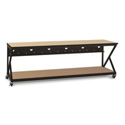 "96"" Performance 300 Series LAN Station - Hard Rock Maple"